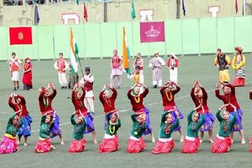68th Independence Day celebration at Palzor Stadium