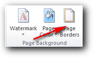Page Borders Ms Word