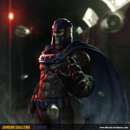 Magneto Beauty por 3D