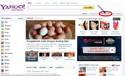 Membuat Email Gratis Di Yahoo