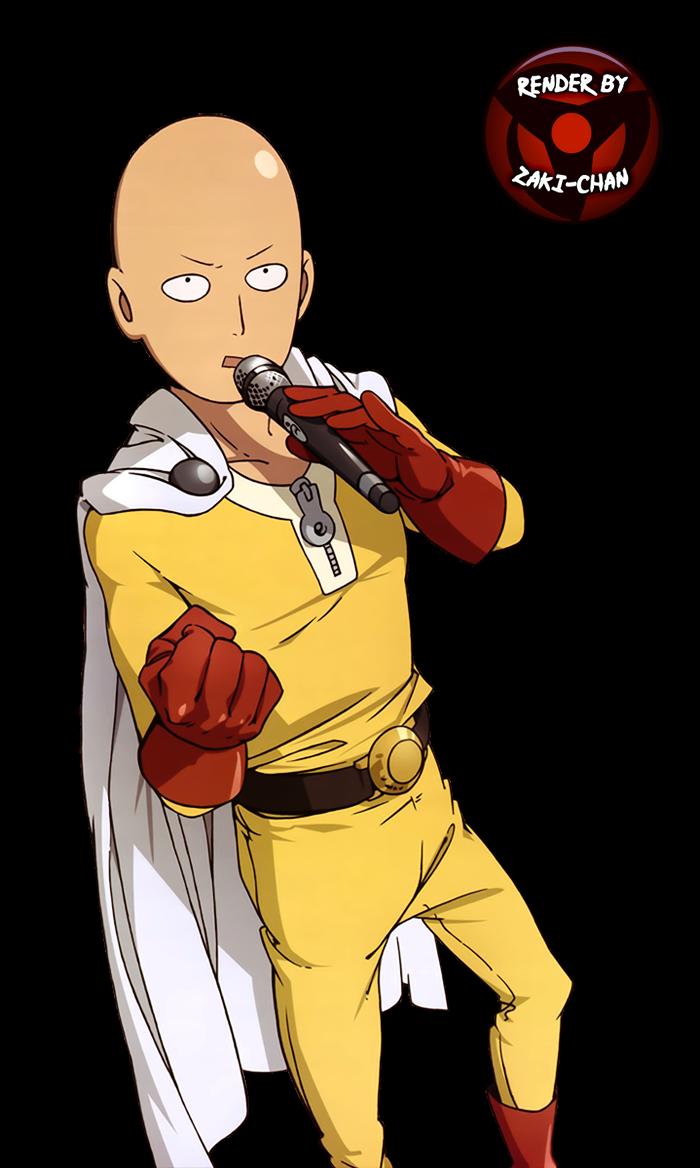 render Saitama + One Punch Man