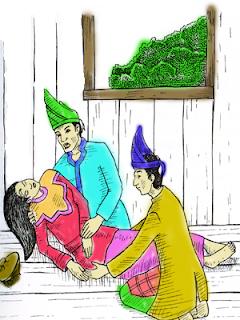 Cerita Rakyat Propinsi Jambi, Putri Cermin Cina