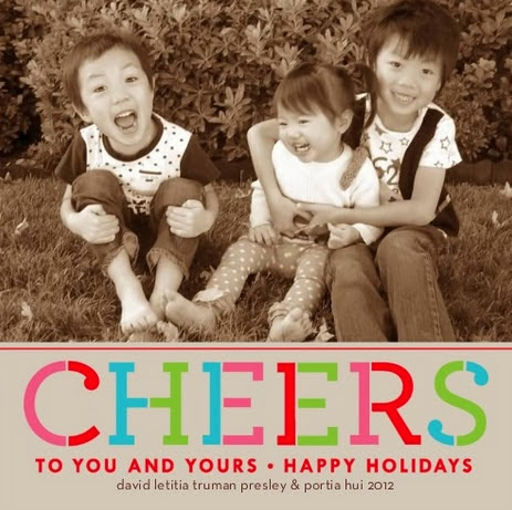 Cheers holiday card 2012