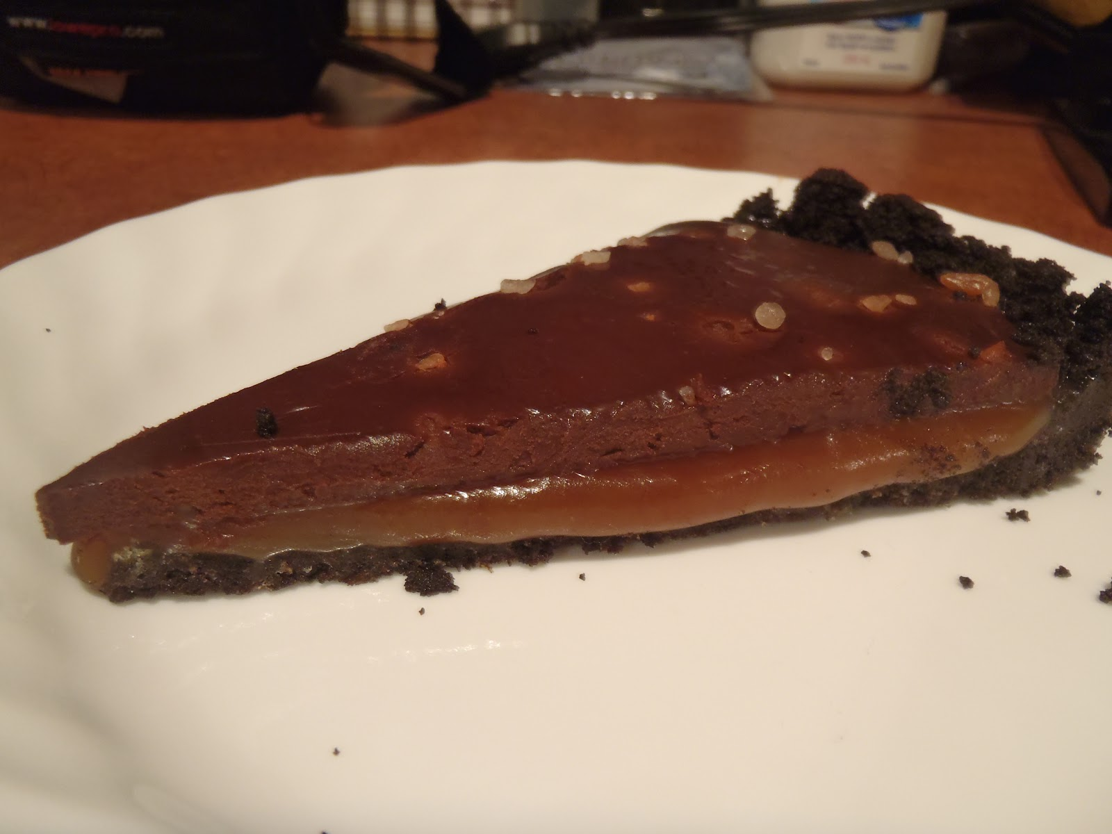 Cooking With Jen: Salted Caramel Chocolate Torte