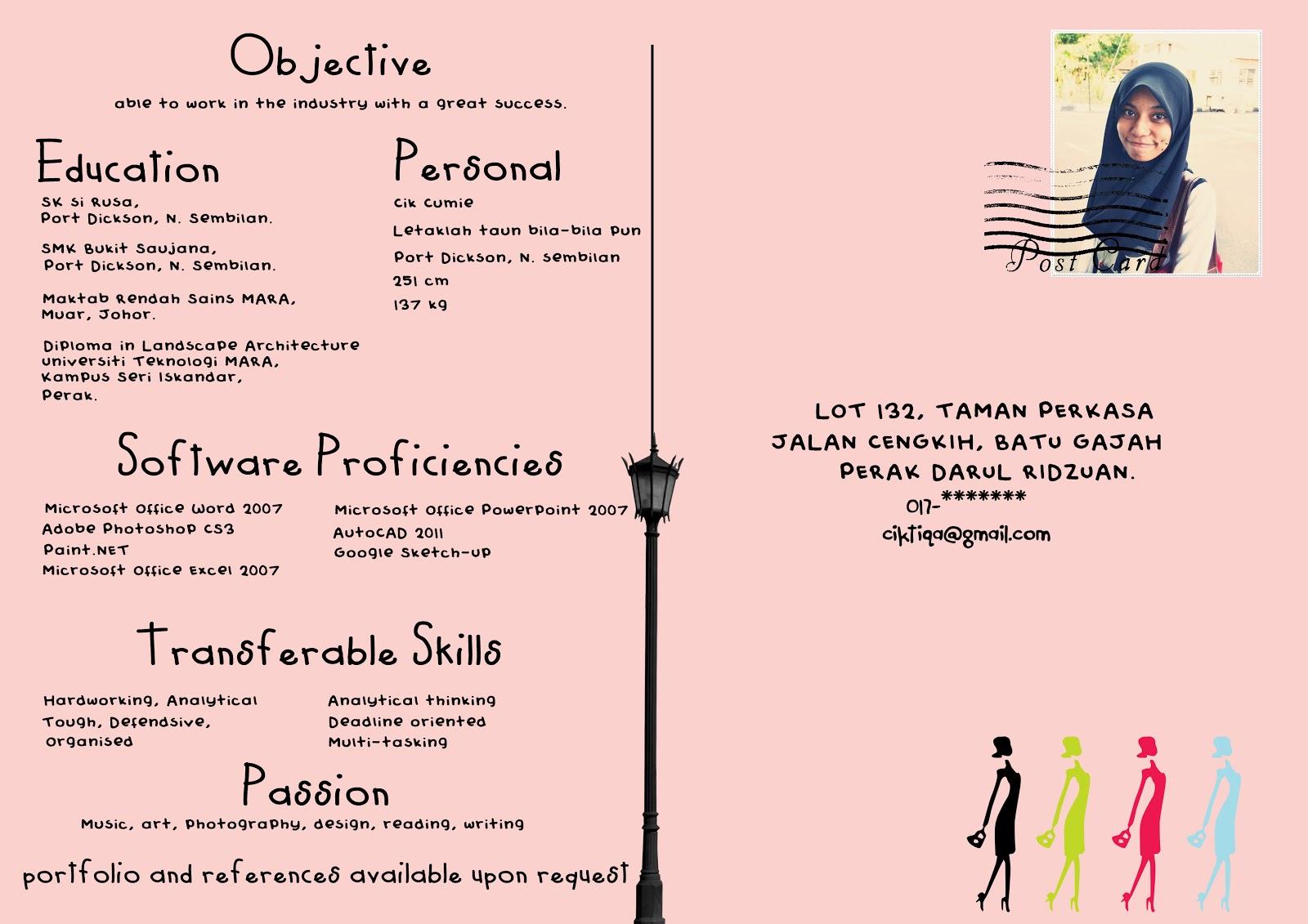 kb png contoh resume bahasa melayu resume kerja swasta resume kerja