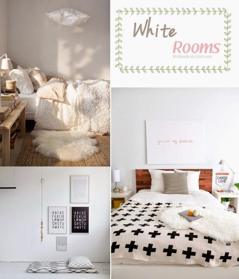decoracion en blanco habitaciones: decoracion minimalista