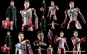 Hot Toys Iron Man 2Mark V (MMS 145) (Part 8More Mark V) (iron man mark tony stark)