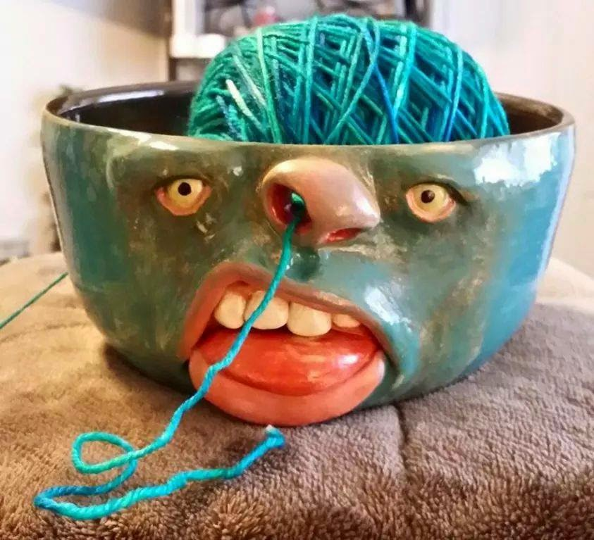 Knitting Bowl Nose : Molly bee s attic this and that here there