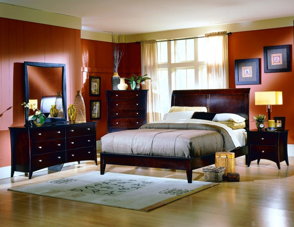 Cozy bedroom ideas for Bedding room furniture