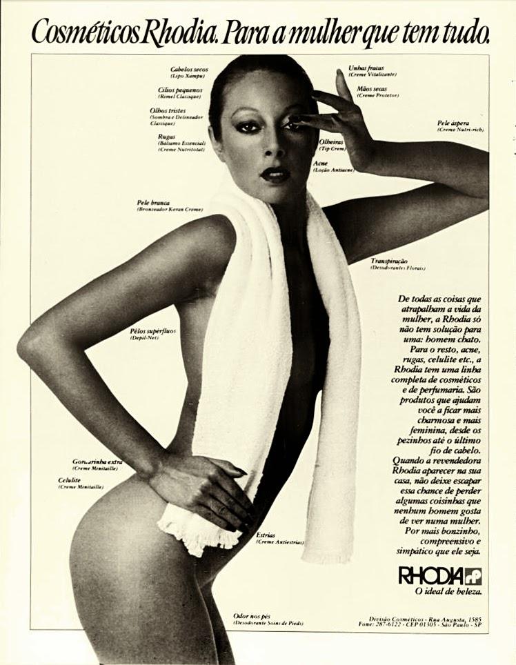 rhodia. anos 70.  Reclame 1976.  década de 70. os anos 70; propaganda na década de 70; Brazil in the 70s, história anos 70; Oswaldo Hernandez;