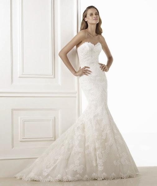 Vestidos de novia con Escote Corazon