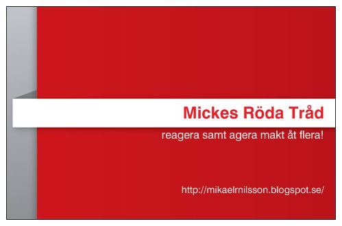 Mickes Röda Tråd