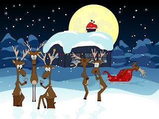 漫画タッチのクリスマス飾りと背景 beautiful christmas ornaments イラスト素材5
