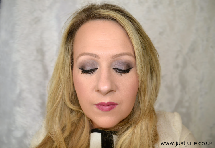 Stila in the Light Eyeshadow Palette makeup look