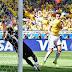 """No hubo """"jogo bonito"""" brasileño: Marcador global final Brasil 4-Chile 3"""