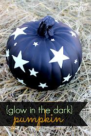 Glow in the Dark Pumpkin with Duck Tape