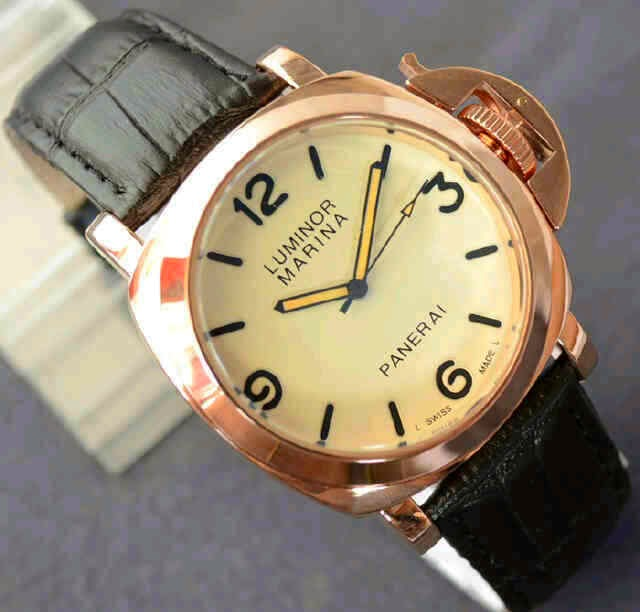 Luminor Marina Firenze Gold hitam