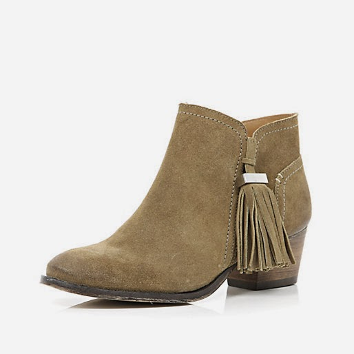 river island suede boots