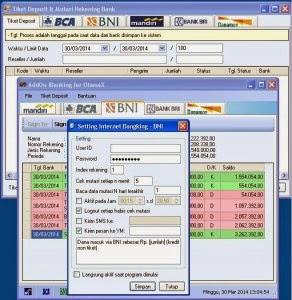 AddOn IB BRI (IBanking) BRI Otomax | Lapaksofware