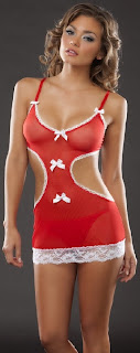 2 Pc Baby doll and G-String