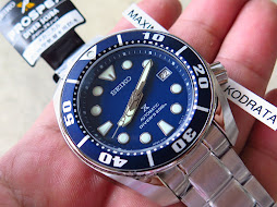 SEIKO DIVER NEW SUMO BLUE DIAL - SEIKO SBDC033 - AUTOMATIC 6R15 - BRAND NEW WATCH