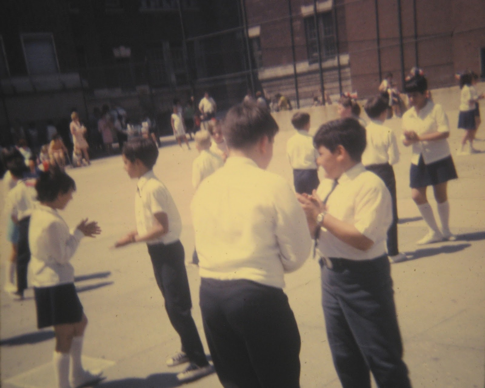 Joey Mondello in the big yard PS22 June 1968