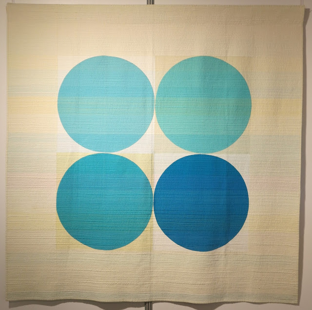 Carrefour Européen du Patchwork 2015 - Breathe by Leanne M. Chahley