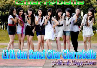 Lirik Lagu dan Chord Gitar Cherrybelle Love is you