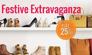 Flat 25% additional off on Men / Womens / Kid Footwear & Accessories at HomeShop18 (Offer Valid till 3rd Nov'13)