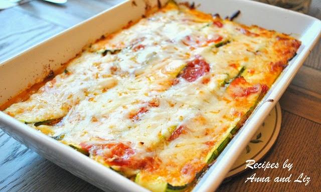 Zucchini Lasagna- WITHOUT Noodles!