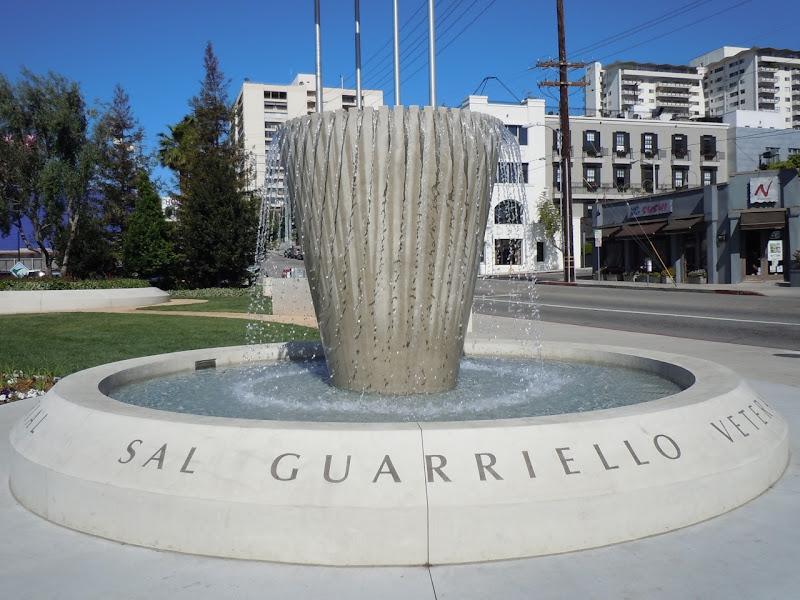Sal Guarriello Veterans' Fountain WEHO