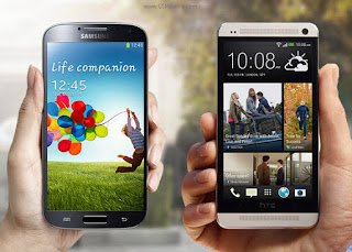 Samsung Galaxy S4 VS HTC One Army Of Two