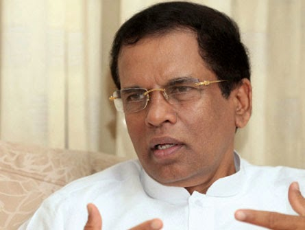 Send crusade gifts to casualties of nasty climate – Maithripala Sirisena (Watch report)