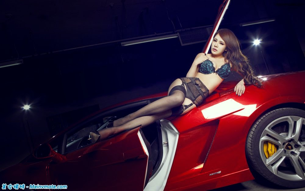 Chi cars supercar with the U.S. model underwear