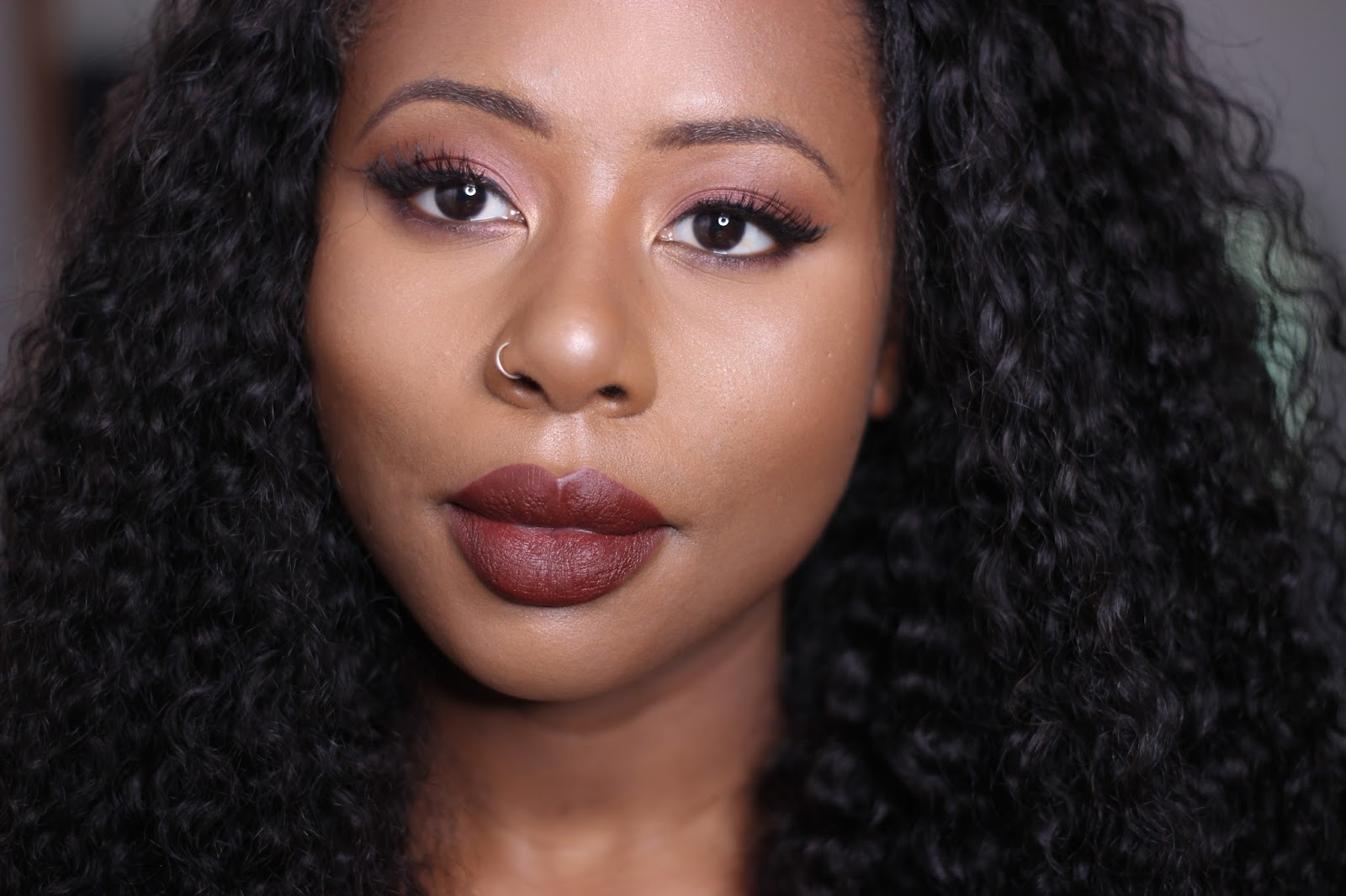 MAC Cosmetics Deep Love Lipstick Dark Skin