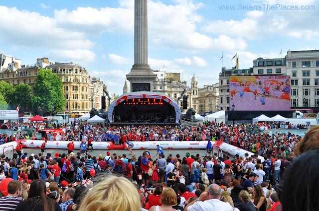 Canada Day at Trafalgar Square