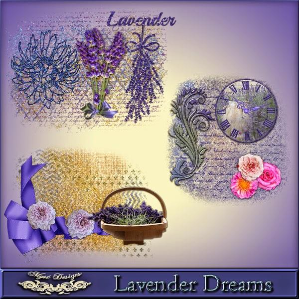Lavender Dreams Clusters