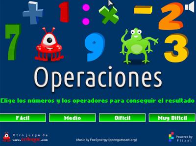http://www.vedoque.com/juegos/Operaciones.swf?idioma=es