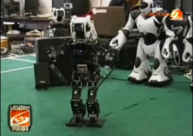 Robot Eros Bisa Berjoget Ala Gangnam Style