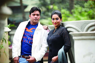 Bangladeshi actor Anisur Rahman Milon With Momo