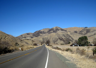 Dry hills along CA 25, Airline Highway