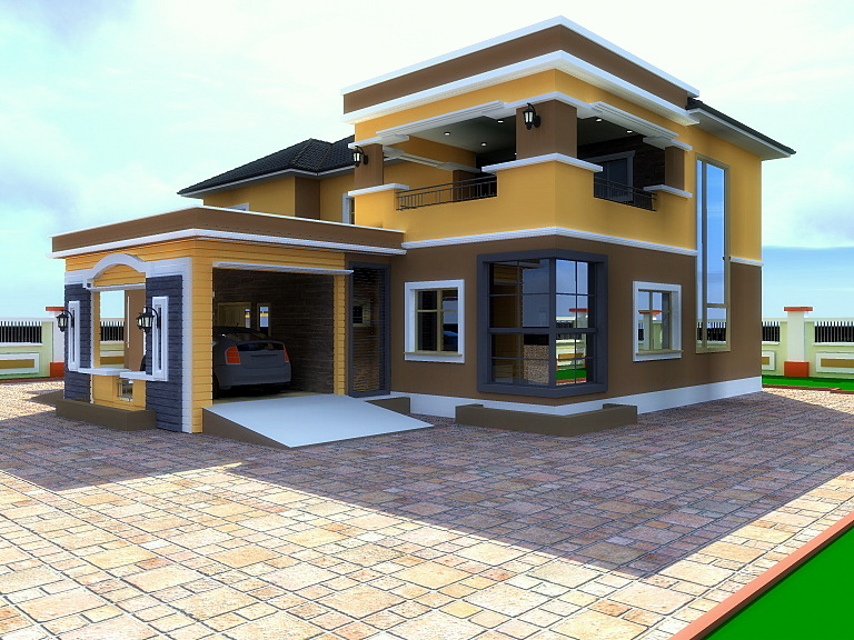 House plans for 6bedroom duplex in nigeria joy studio for Nigeria house design plans