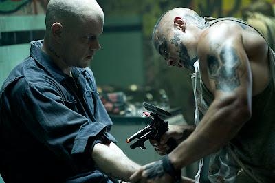 Matt Damon en una escena de la película Elysium