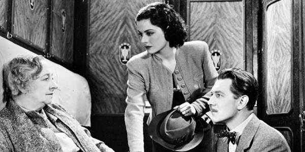 The Lady Vanishes, directed by Alfred Hitchcock