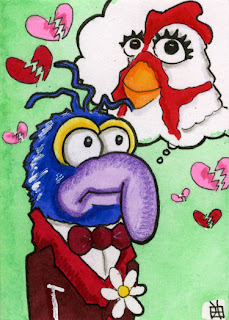 gonzo, camilla the chicken, j(ay), muppets