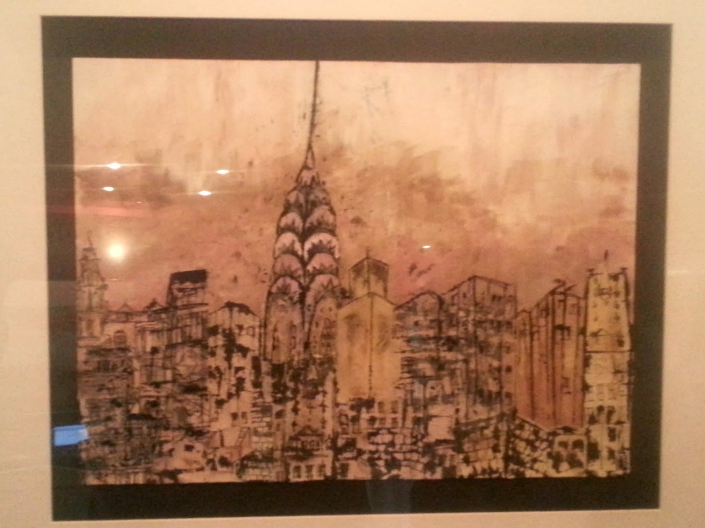 The Chrysler Building City Scape