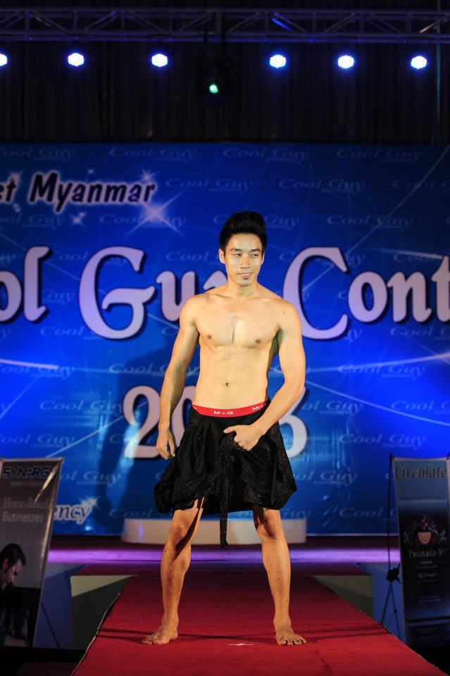 M y a n m a r H u n k s: Paing Takhon @ Myanmar Cool Guy 2014 Contest