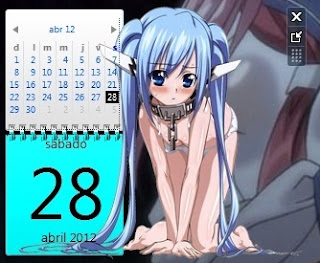 Calendario de Nymph (Sora No Otoshimono)