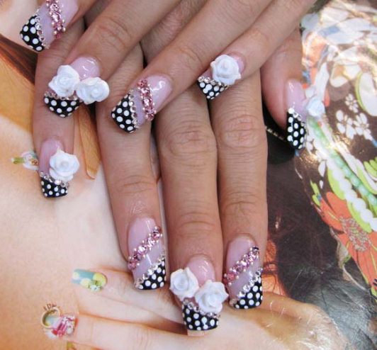 Bow Ties And Barrettes: HOT NAIL DESIGNS