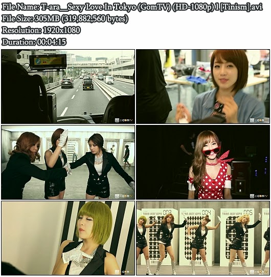 Download MV T-ara - Sexy Love In Tokyo (GomTV Full HD 1080p)